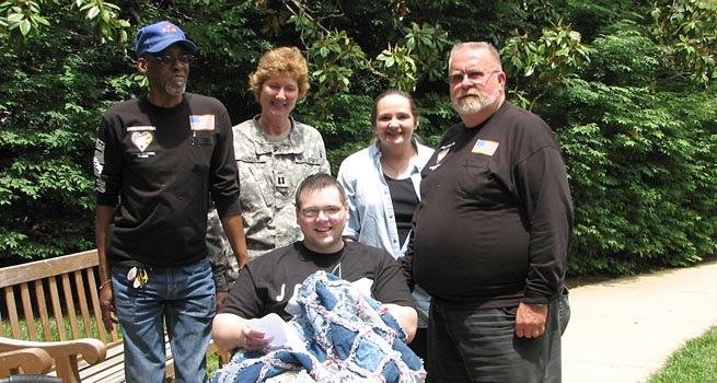 Wounded Heroes Ride IV to Walter Reed Army Medical Center in 2009